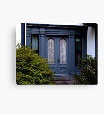 The Original Doors to Ringwood Manor, RIngwood NJ Canvas Print