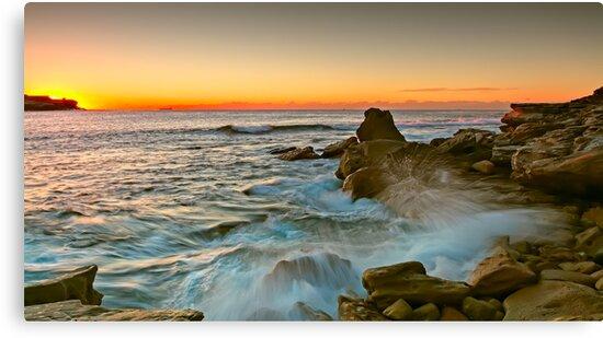 Long Bay Sunrise by Mark  Lucey