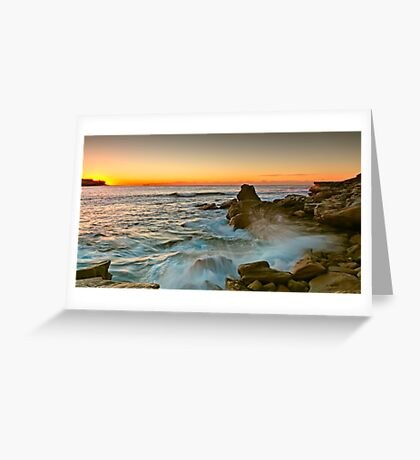 Long Bay Sunrise Greeting Card