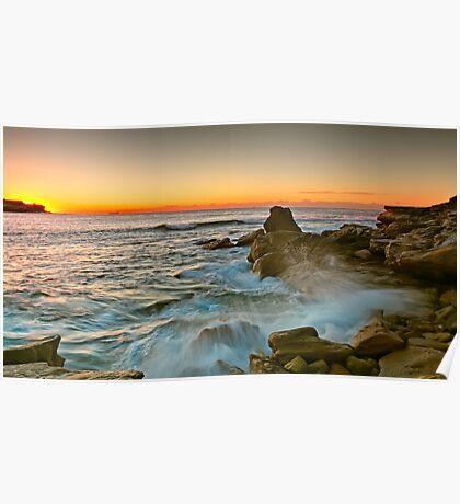 Long Bay Sunrise Poster