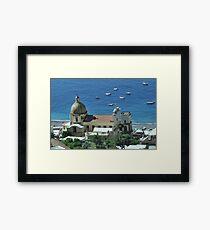 Europe Framed Print