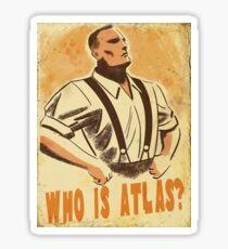 BioShock – Who is Atlas? Sticker