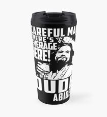 Big Lebowski - Dude Abides Travel Mug