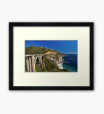 Big Sur Dreaming Framed Print