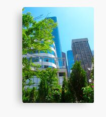 City blocks Canvas Print