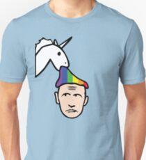 Unicorn Vomits Rainbow on Putin T-Shirt