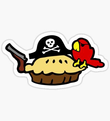 Pie Pirate Sticker