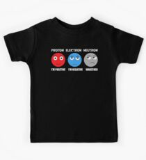 Proton Electron Neutron T Shirt Kids Clothes