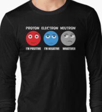 Proton Electron Neutron T Shirt Long Sleeve T-Shirt