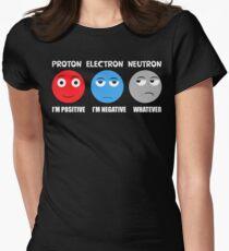 Proton Electron Neutron T Shirt Women's Fitted T-Shirt