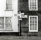 High Street Sign - Walsingham by Richard Flint
