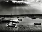 Burnham Overy Staithe, Norfolk, UK by Richard Flint