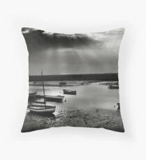 Burnham Overy Staithe, Norfolk, UK Throw Pillow