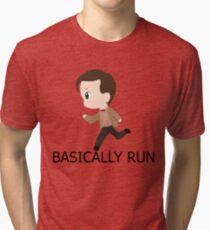 Basically Run Tri-blend T-Shirt