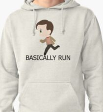 Basically Run Pullover Hoodie