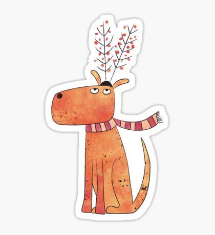 The Antler Hat Sticker