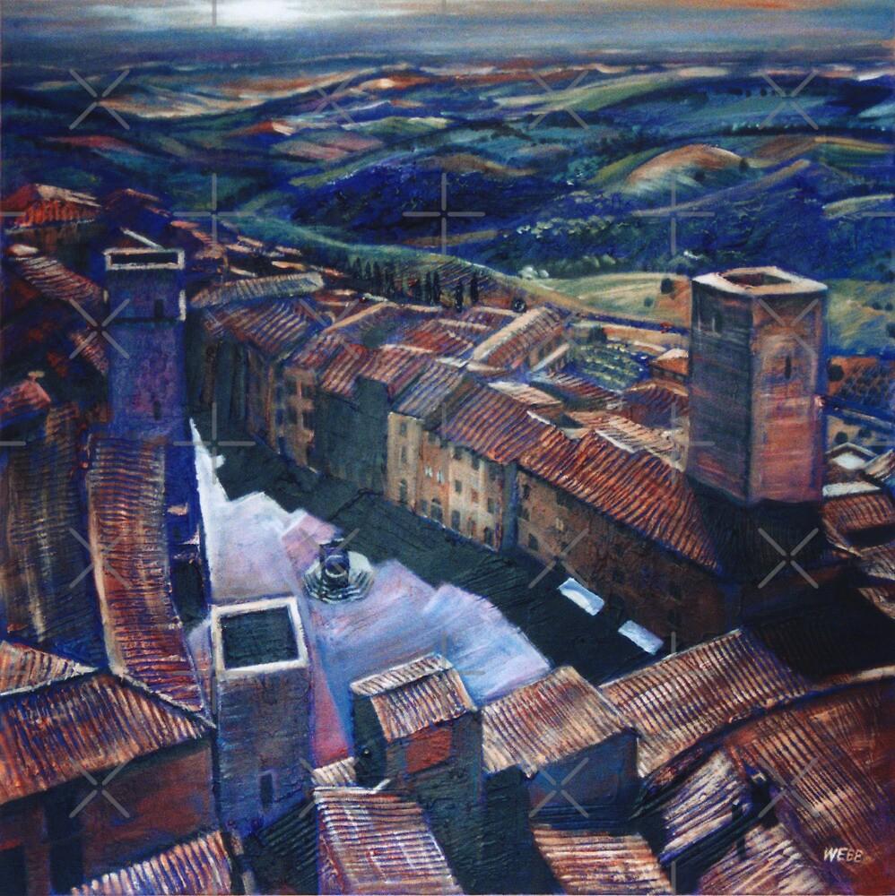 San Gimignano by wonder-webb