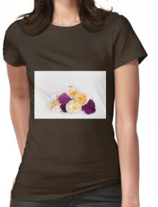 English rose Womens Fitted T-Shirt
