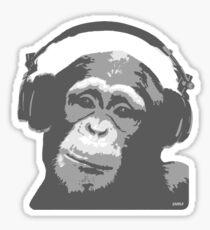 DJ MONKEY Sticker