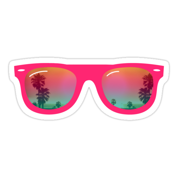 Quot Sunglasses Quot Stickers By Wamtees Redbubble