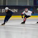 Speed Skating by FranJ