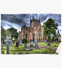 Dunfermline Abbey,HDR. Poster