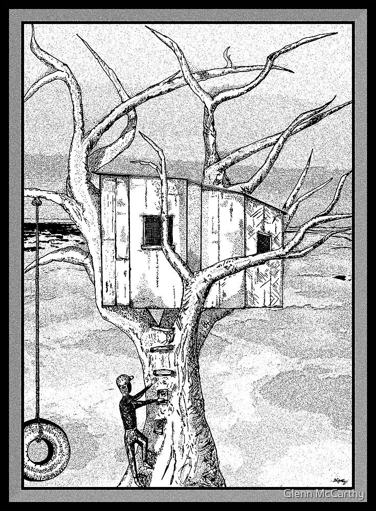 Castle In The Tree - A Childhood Dream by Glenn McCarthy