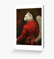 The Hermitage Court Chamber Herald Cat Greeting Card