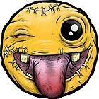 """FUglymojis - """"Crazy Emoji"""" by freshandugly"""