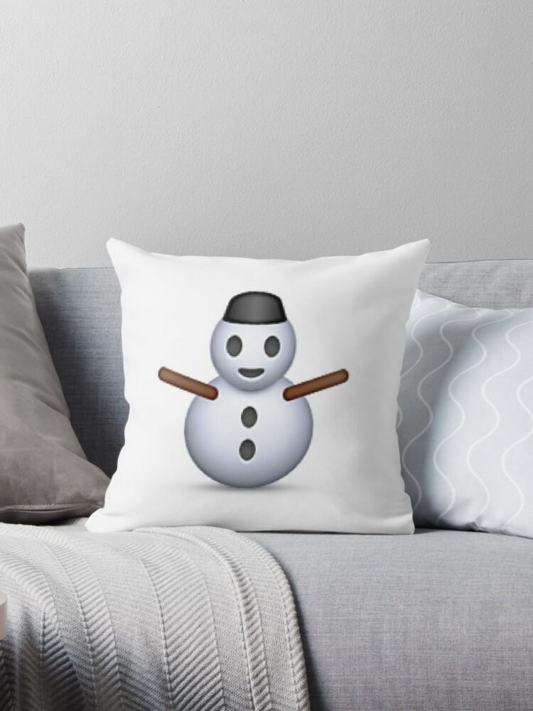 Snowman Emoji - CHRISTMAS by Rad Merch