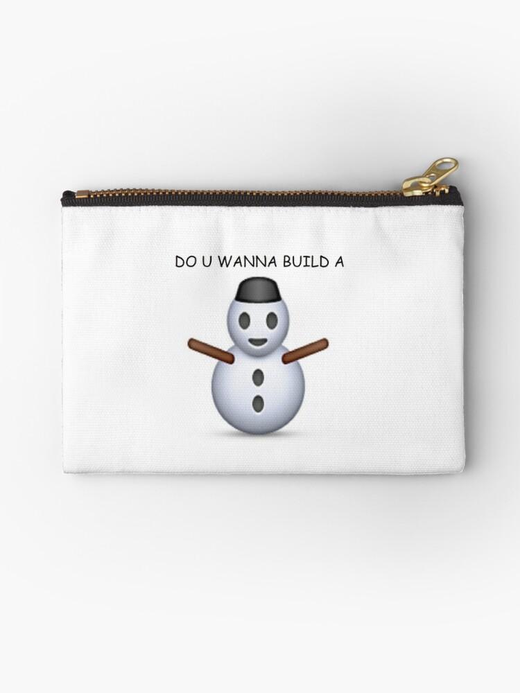 'Do u wanna build a snowman' Emoji - CHRISTMAS by Rad Merch