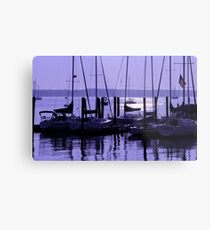 Purple Connecticut Sunrise Metal Print