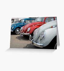 VW 9803 Greeting Card