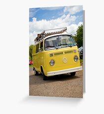 VW 9810 Greeting Card