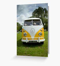 VW 9826 Greeting Card