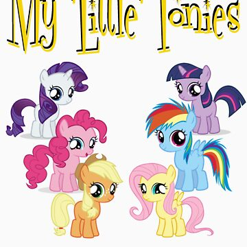 The Little, Little ponies by KeithWoodpecker