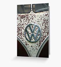 VW 9848 Greeting Card