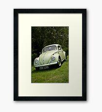 VW 9851 Framed Print