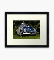 VW 9863 Framed Print