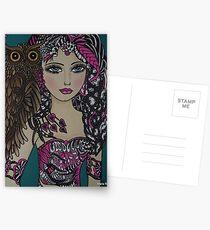 BIG EYED ART Postcards