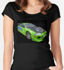 Mitsubishi Eclipse Women's Fitted Scoop T-Shirt