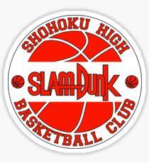 Shohoku High Basketball Club Logo Sticker