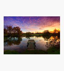 Jetty Sunrise 4.0 Photographic Print