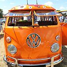 Beautiful Orange Camper! by Vicki Spindler (VHS Photography)