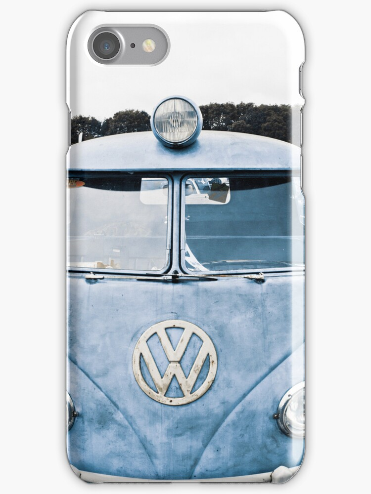 Split screen camper iPhone case by Martyn Franklin
