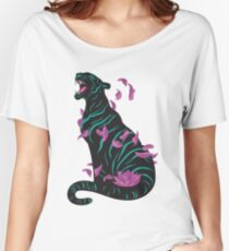 Black tiger Women's Relaxed Fit T-Shirt