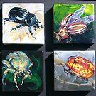 Beetles I by jdbuckleyart