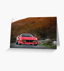 Ferrari 288 GTO 1985 Greeting Card