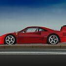 Ferrari F40 LM Michelotto by Stefan Bau
