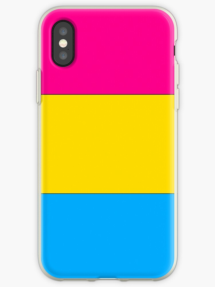 Pansexual Pride phone case, stickers, etc! by youtubemugs